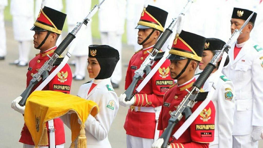 Foto: Ini 5 Hijabers Cantik yang Pernah Jadi Paskibraka di Istana Merdeka