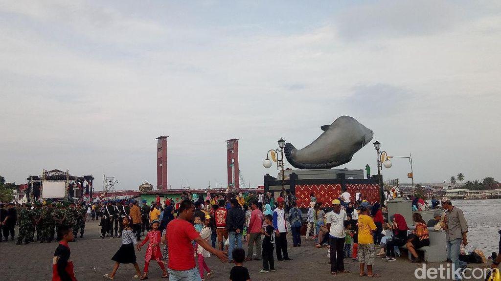 Warga Antusias Hadiri Countdown Asian Games 2018 di Palembang