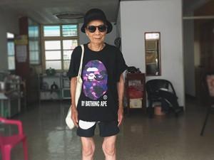 Kenalan dengan Moon Lin, Nenek 88 Tahun yang Lebih Stylish dari Kamu