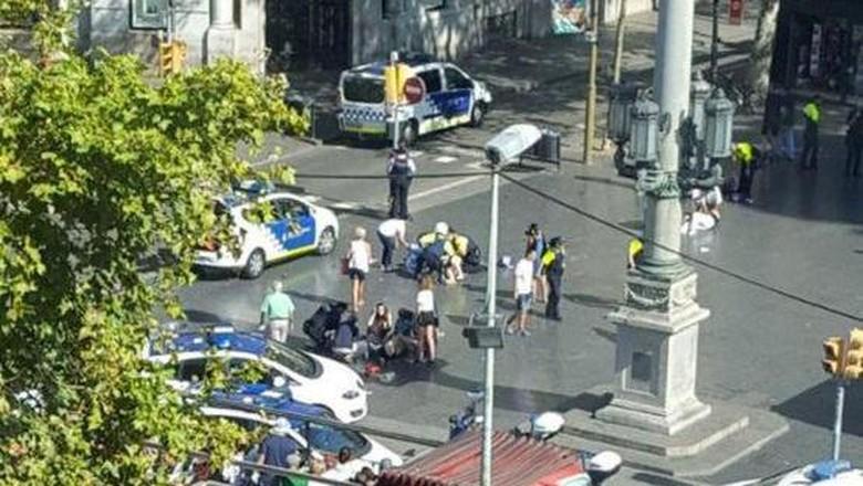 ISIS Klaim Bertanggungjawab Atas Teror Van di Barcelona