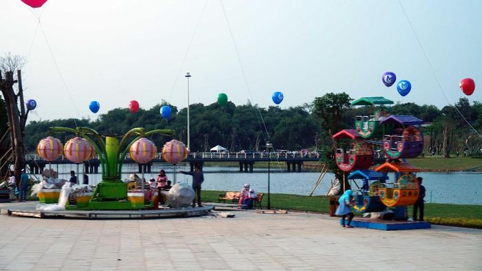 Central Park Meikarta/Foto: Handy Nursatyo/detikcom