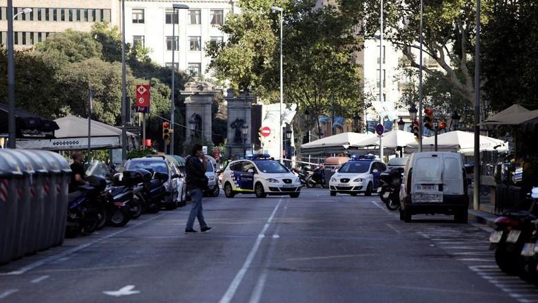 Serangan Bom Digagalkan, 4 Pelaku Ditembak Mati di Cambrils Spanyol
