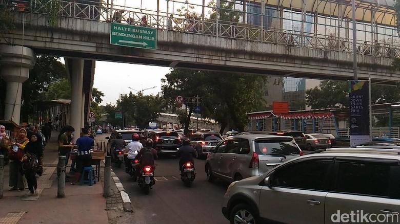 Larangan Motor di Rasuna Said-Sudirman Resmi Diterapkan 11 Oktober