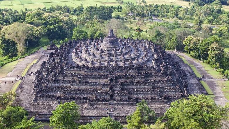 Candi Borobudur di Magelang (Dok. borobudurpark/Instagram)