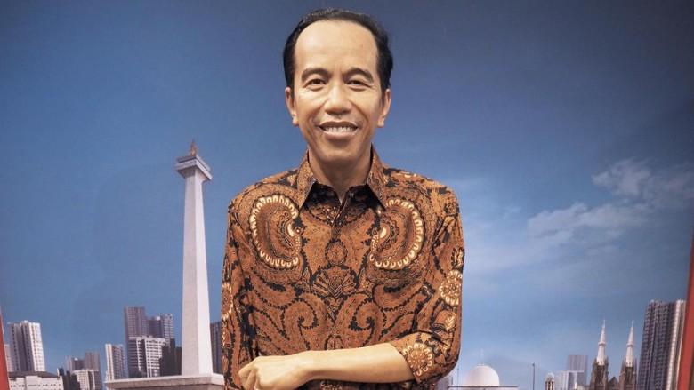 Patung lilin Jokowi (dok Madame Tussauds Hong Kong)