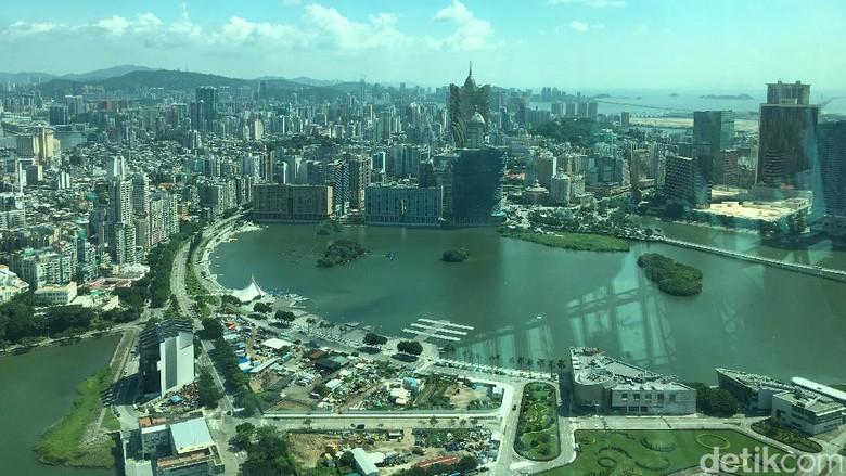 Mahalnya lahan parkir di China Foto: Aji Bagoes Risang