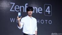 Ia dipilih menjadi brand ambasador dari ponsel pintar keluaran Asus.