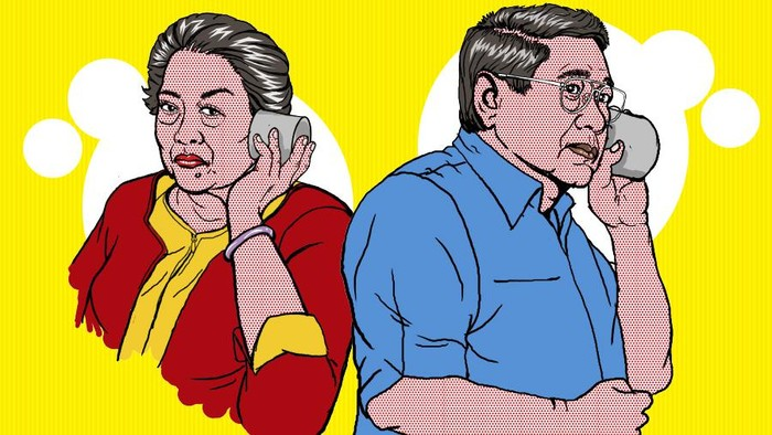 Jejak hubungan Megawati-SBY