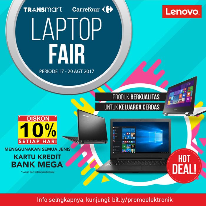 Transmart dan Carrefour Gelar Diskon 10% Khusus Laptop (Foto: Dok. Transmart Carrefour)