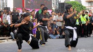 Ribuan Pesilat Semarakkan Pencak Malioboro Festival di Yogya