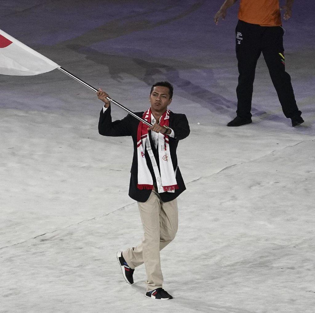 Sempat Simpang Siur, Siman Jadi Pembawa Bendera di Asian Games 2018