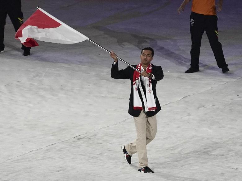 Siman Sudartawa Ditunjuk Jadi Pembawa Bendera Asian Games 2018