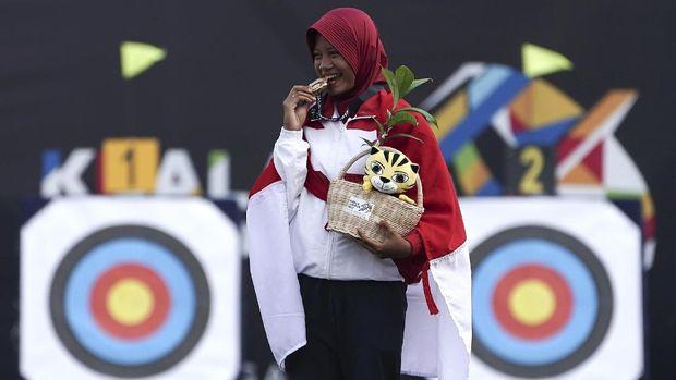 Diananda Coirunisa dari panahan bisa menambah perolehan medali emas Indonesia.