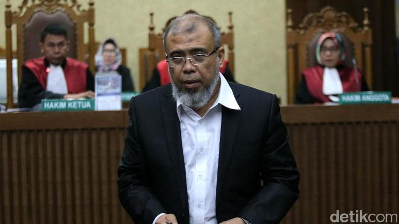 Merasa Hancur, Patrialis Akbar: Saya Tunggu Maaf KPK di Akhirat