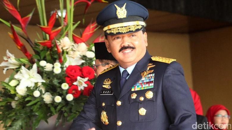 Jokowi Pilih KSAU Marsekal Hadi Jadi Calon Tunggal Panglima TNI