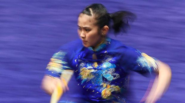 Felda Elfira Santoso juga gagal menyumbang medali untuk Indonesia.