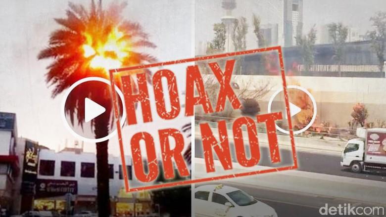 Heboh Suhu Panas Ekstrem di Kuwait Bikin Pohon Terbakar, Beneran?