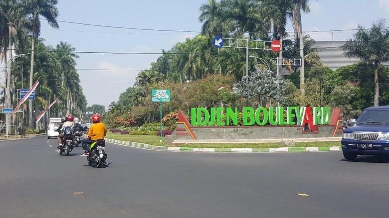 Jalan Ijen, Kota Malang (Muhammad Aminudin/detikTravel)