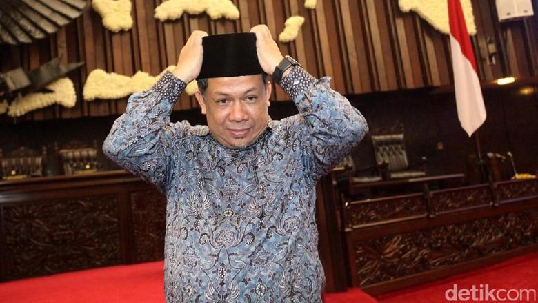 Fahri Sudah Terima Kabar Novanto Mundur dari Ketua DPR