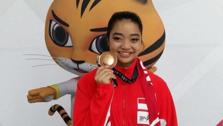 Juwita Niza Tambah Emas dari Wushu