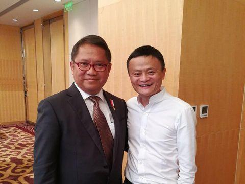 Menguak Gurita Jack Ma di Bisnis E-Commerce Indonesia