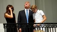 Akibat Fatal Lihat Gerhana Matahari Tanpa Kacamata Seperti Donald Trump