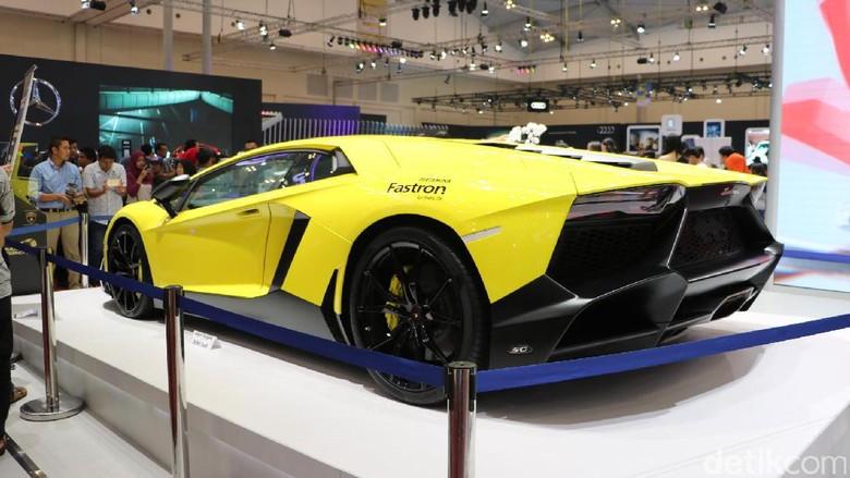 Mobil Lamborghini di GIIAS 2017 lalu Foto: Dadan Kuswaraharja