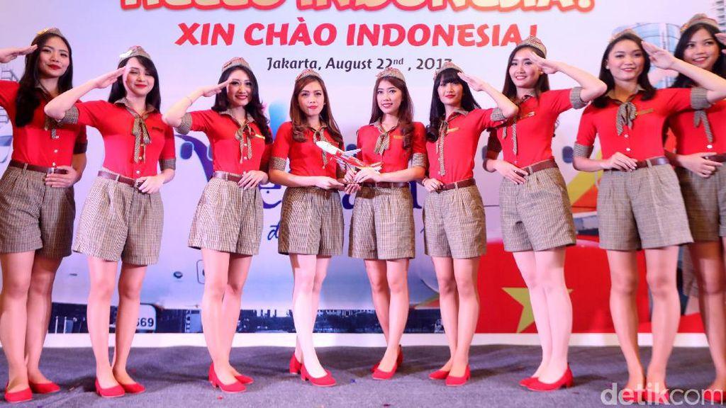 Maskapai Bikini Buka Rute Baru, Hubungkan Ho Chi Minh ke Bali