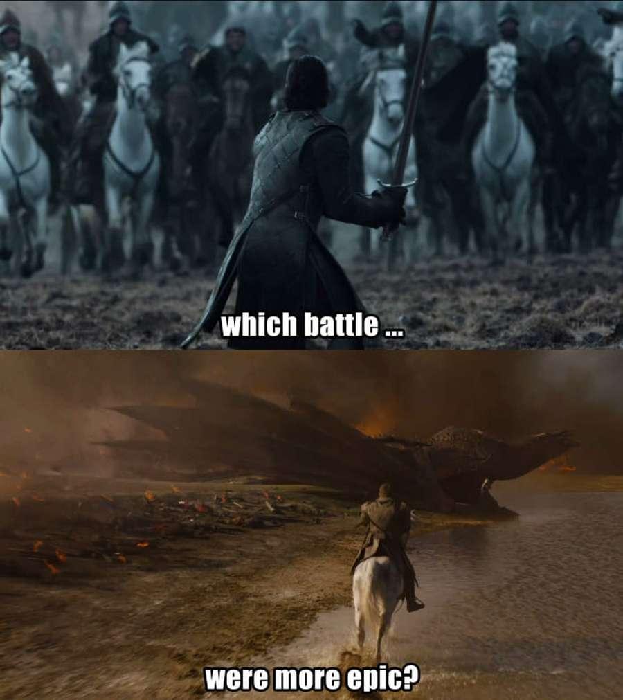 Kerennya Naga GOT hingga White Walker Jadi Meme Lucu