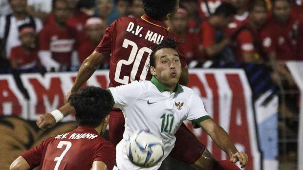 Ezra Unjuk Kemampuan di Hadapan Pelatih Timnas Indonesia U-23