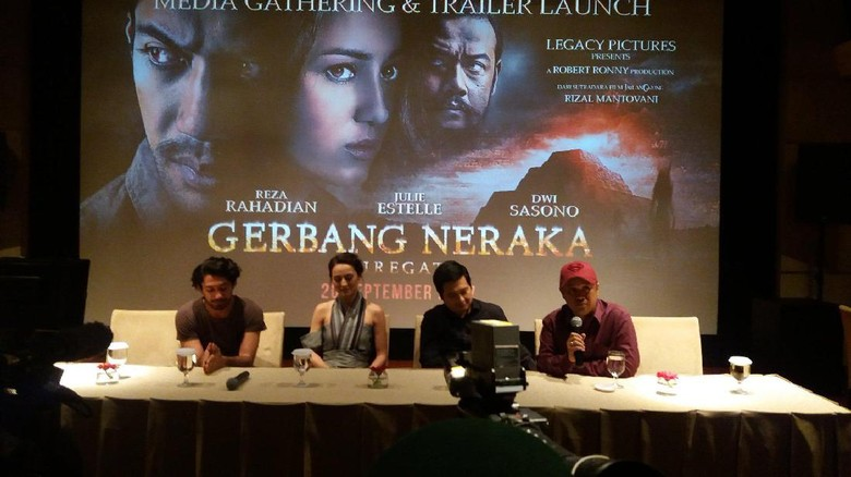 Foto: Cast film Gerbang Neraka (Official Legacy Pictures)