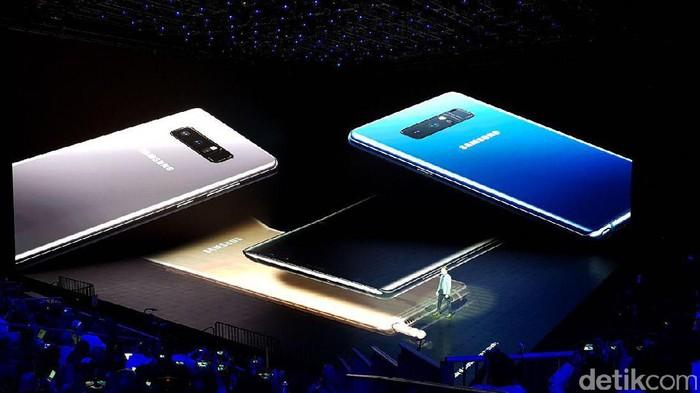 Galaxy Note 8. Foto: Achmad Rouzni Noor II/detikINET