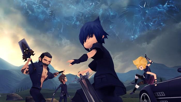 Final Fantasy XV Pocket Edition. Foto: istimewa