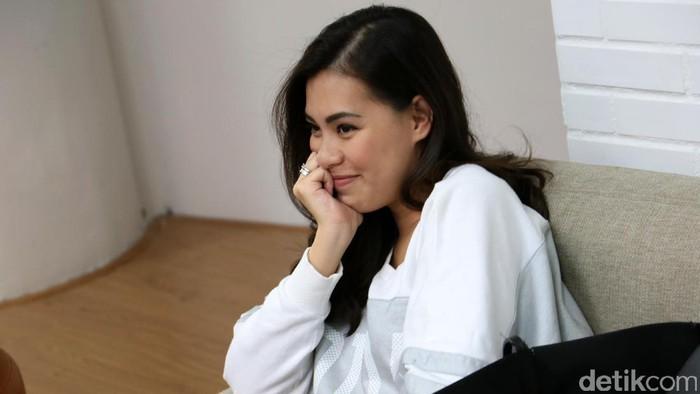 Viviane saat berkunjung ke kantor detikcom.