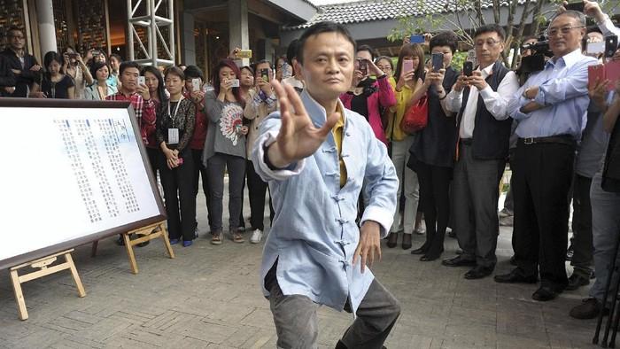 Jack Ma gemar seni beladiri tai chi. Foto: internet