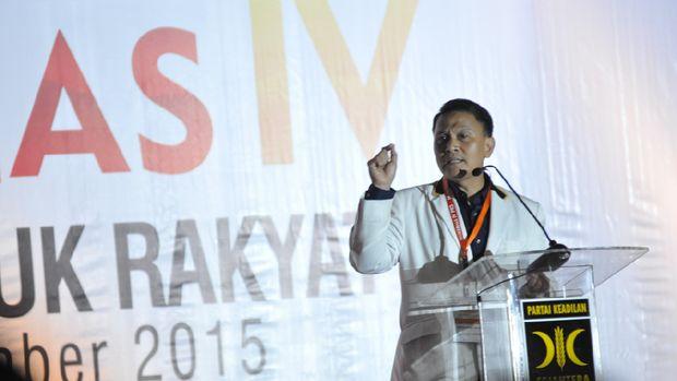 Ketua DPP PKS Mardani Ali Sera mempersilakan jika Garbi menjadi parpol.