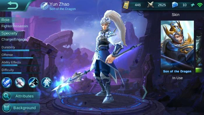 Ini Sebab Yun Zhao Mobile Legends Ganti Nama