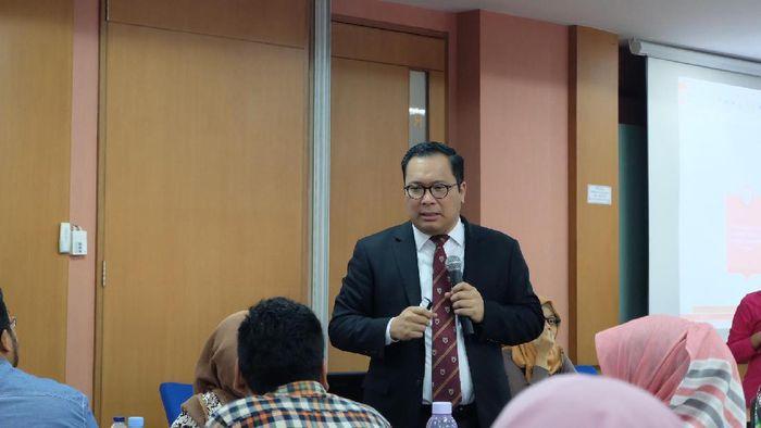 Wakil Ketua Komite Ekonomi dan Industri Nasional (KEIN) Arif Budimanta /Foto: Raras Prawitaningrum/detikcom