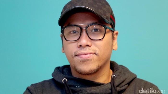 Sammy Simorangkir saat berkunjung ke kantor detikcom.