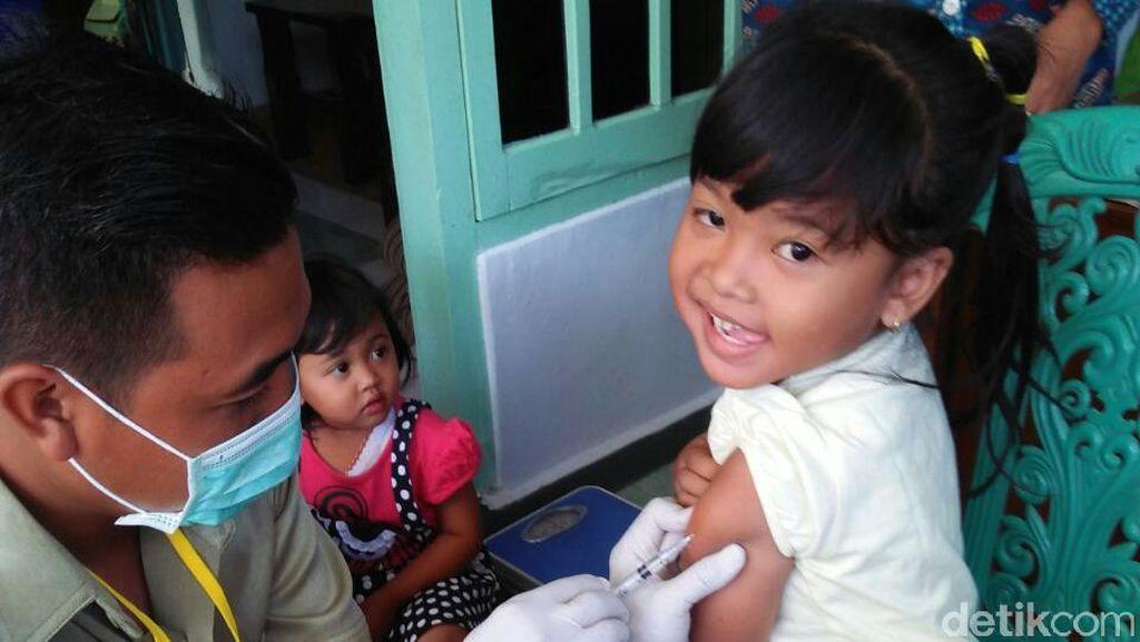 Imunisasi MR Tahap II untuk Luar Jawa Dilakukan Bulan Agustus-September