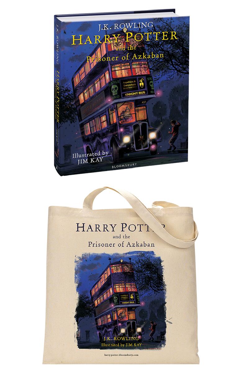 Pre Order Edisi Ilustrasi Harry Potter and the Prisoner of Azkaban Dibuka