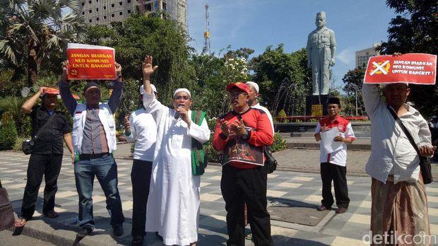 Tolak Kunjungan Sekjen Partai Komunis Vietnam Bergema di Surabaya