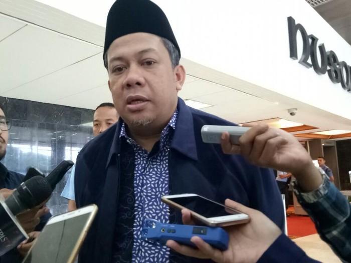 Wakil Ketua DPR Fahri Hamzah (Gibran Maulana Ibrahim/detikcom)