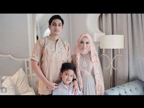 Lukman Azhari, Medina Zein dan putra dari pernikahan pertamanya
