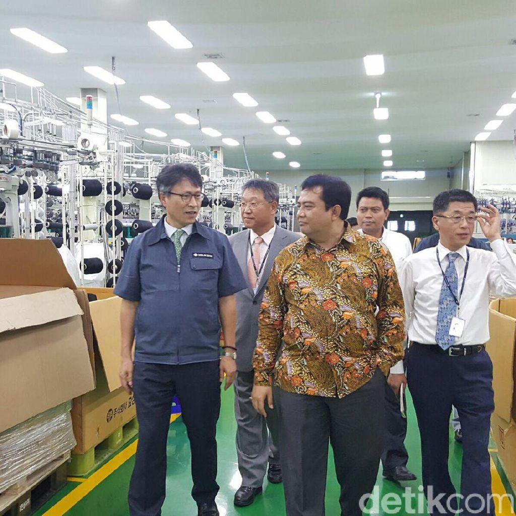 Korsel Bangun Pabrik Bahan Sneakers Rp 330 M di Karawang