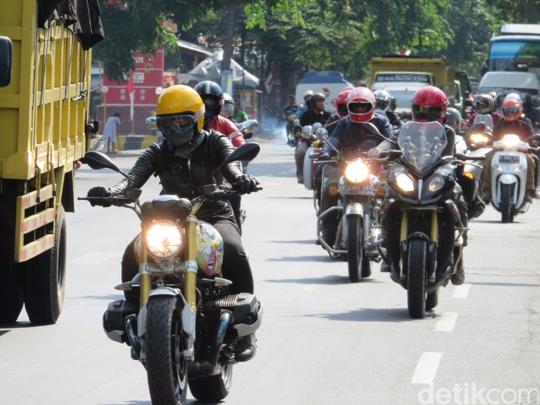 Touring Simpati motorbaik (Foto: Ruly Kurniawan)