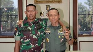 Foto: 2 Babinsa Viral Bertemu Jenderal