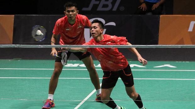 Fajar/Rian memastikan langkah Indonesia ke babak final Asian Games 2018.