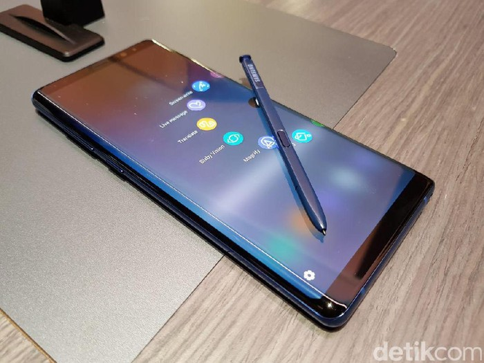 Galaxy Note 8. Foto: Achmad Rouzni Noor/detikINET