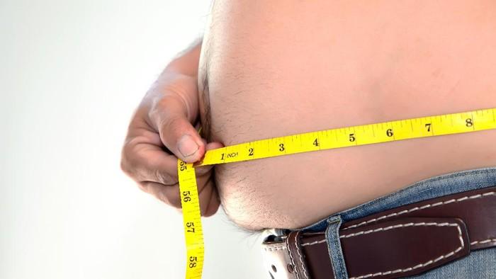 Lemak pada perut (Foto: Instagram)